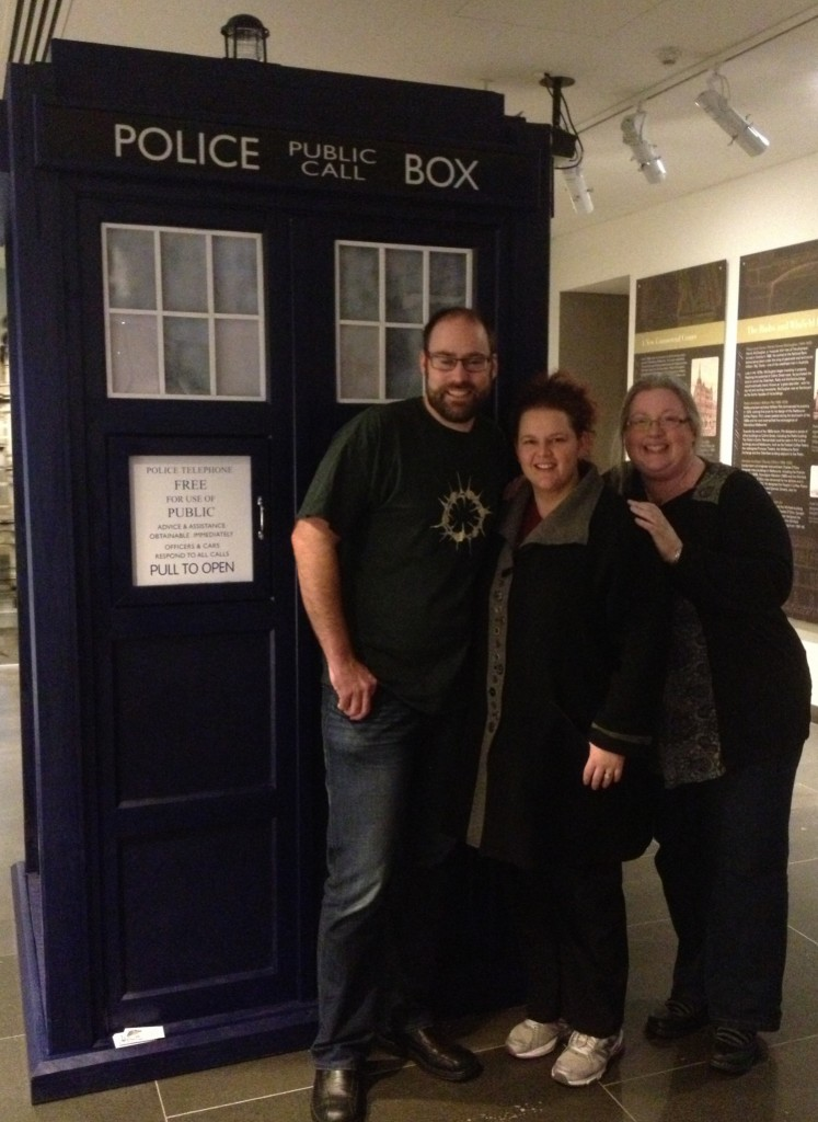 Finally, all three of the New Who Review team together at a Con!